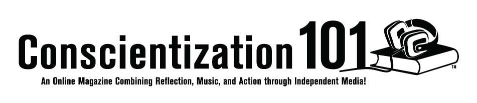 Conscientizaton 101 horizontal bnw logo