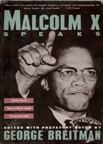 Malcolm X Speaks-C101